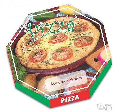 40 Caixas De Pizza Embalagem Oitavada Mussarela 36 Fotográfica
