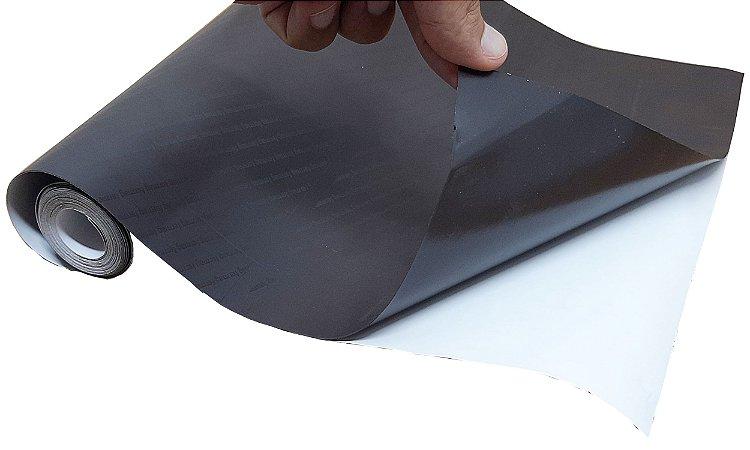 2 Metros De Manta Magnética Adesiva Imã De Geladeira Em Rolo