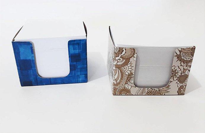 2 Blocos De Rascunho Recado Cubo Decorativo De Anotações