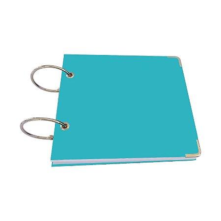 Album Tipo Scrapbook Argolado 16x18 Livro De Assinatura Para 100 Fotografias Casamento Viagem