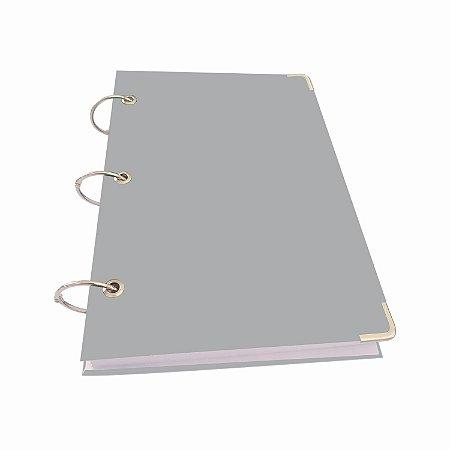 Caderno Argolado A5 Pequeno 10 Matérias 200 Folhas Sem Pauta Lisa