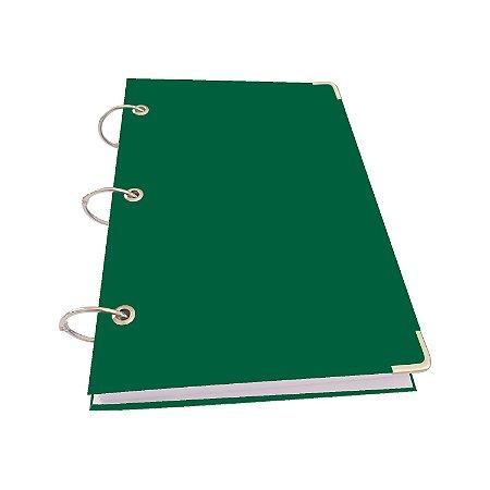 Caderno Argolado Fichário A5 Pequeno 400 Folhas 20 Matérias Pautadas