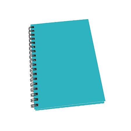 Caderno Universitário Grande Capa Dura Com 100 Folhas Pautadas Uma Matéria