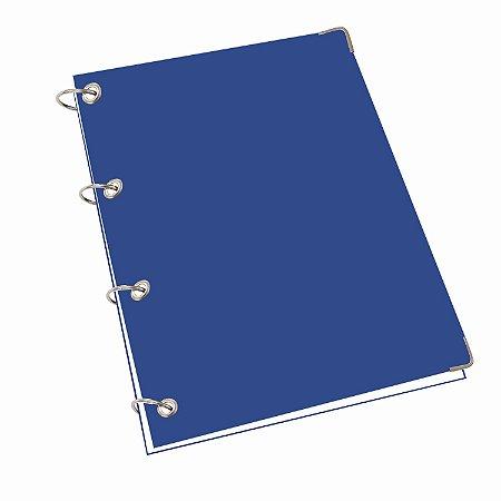 Caderno Argolado Universitário 200 Folhas Pautadas Fichário