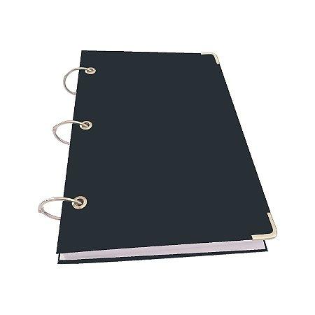 Caderno Argolado A5 Pequeno Pautadas 10 Matérias 200 Folhas