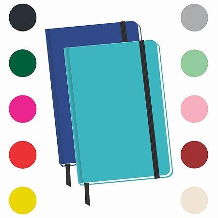 2 Caderneta Sem Pauta 14x9 Cm Bloco De Anotação Caderno Bolso