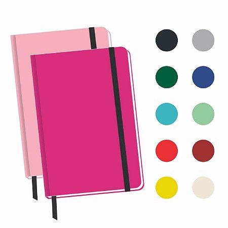2 Caderneta Com Pauta 14x9 Cm Bloco De Anotação Caderno Bolso