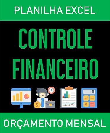 Controle Financeiro Mensal - Excel