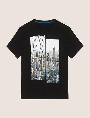 cacaa2517a9 Camiseta Armani Exchange Preta - Roupas originais masculinas de ...