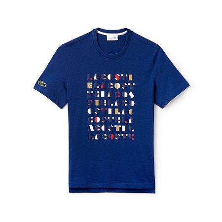 Camiseta Lacoste Estampada Neck 3D - Roupas originais masculinas de ... 4994a803757fd