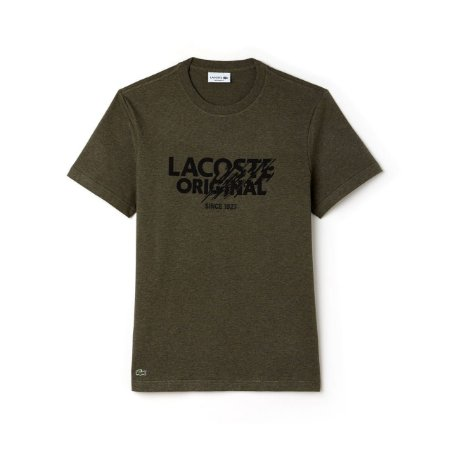 Camiseta Lacoste Estampada Verde - Roupas originais masculinas de ... bb4b76503fc0e