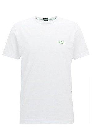 Camiseta Hugo Boss Green Branca Logo - Roupas originais masculinas ... 5eae967d183