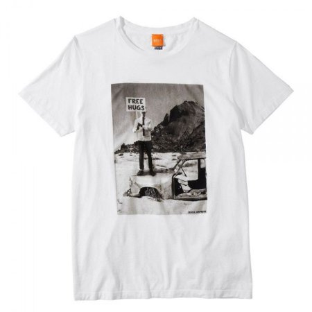 Camiseta Hugo Boss Orange Tavey 5 Branca - Roupas originais ... 2838ba57d58f1