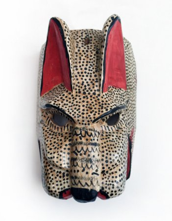 Máscara Chacal da Guatemala