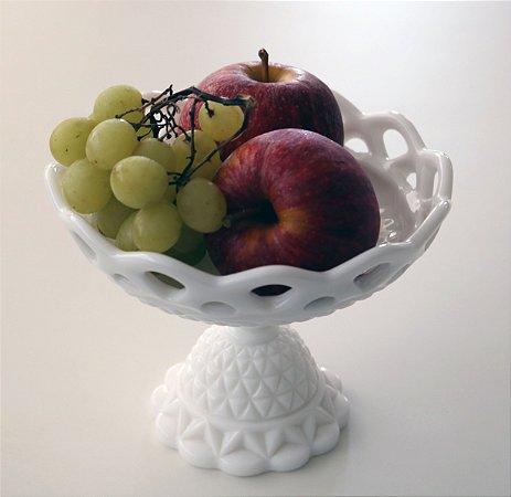 Milk Glass - Fruteira petit