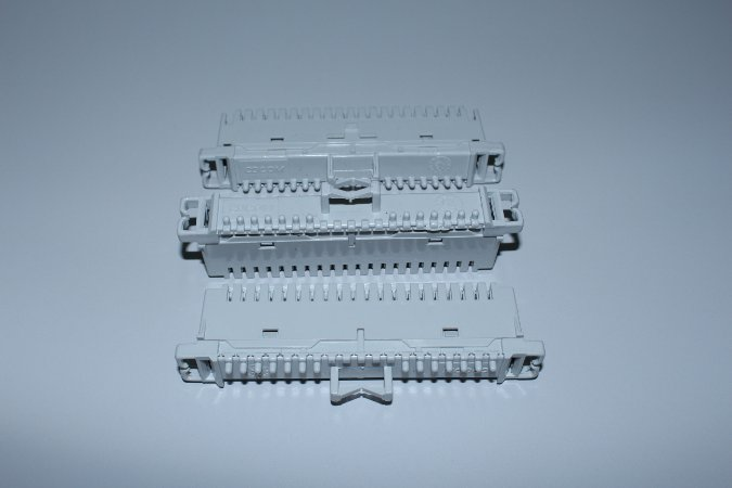 Bloco M10B CP - para Bastidor tipo Calha - CINZA - CDCOM - Caixa c/ 10 unidades
