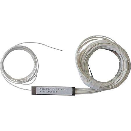 SPLITTER OPTICO PLC 1X16 (SM) (RI) - 01 unidade