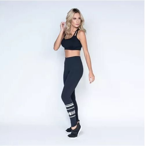 Legging Fitness Poliamida - Yes, You Can!