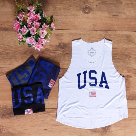 Cropped Regata - Usa Style