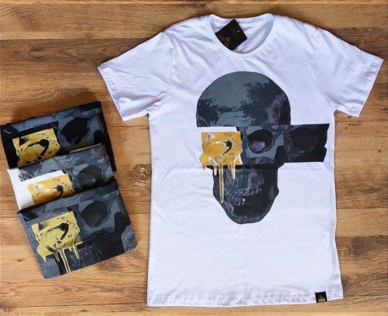 T-Shirt - Skull Gold