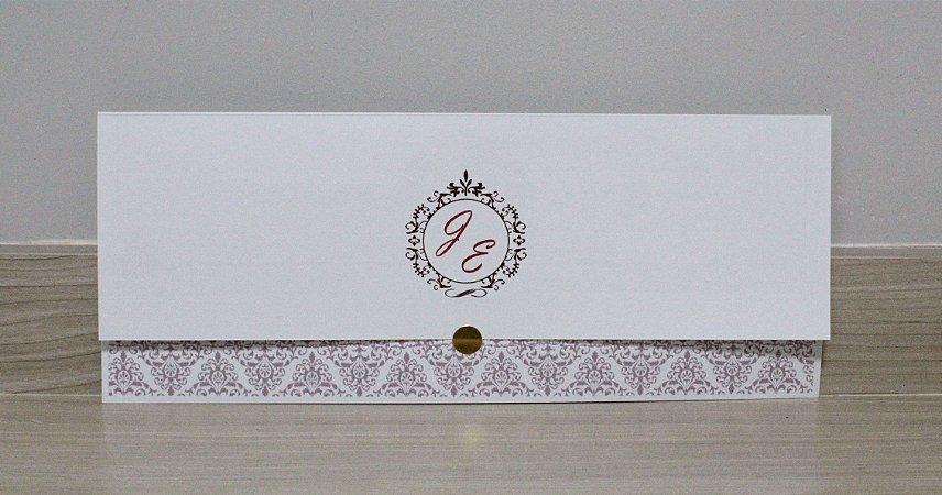 Convite de Casamento PE09 - 10 unidades
