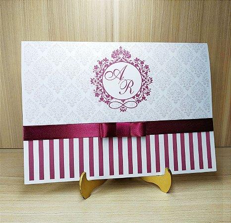 Convite de Casamento MB05 - 10 unidades
