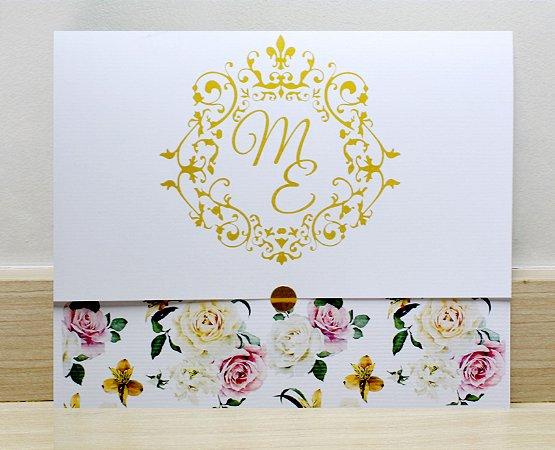 Convite de Casamento PE12 - 10 unidades