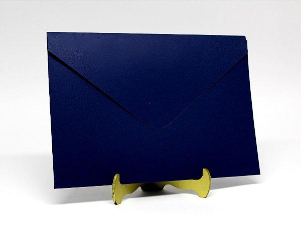 Envelope Convite Azul Marinho 10 Unidades