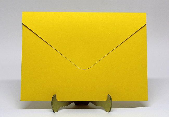 Envelope Convite Amarelo 10 Unidades