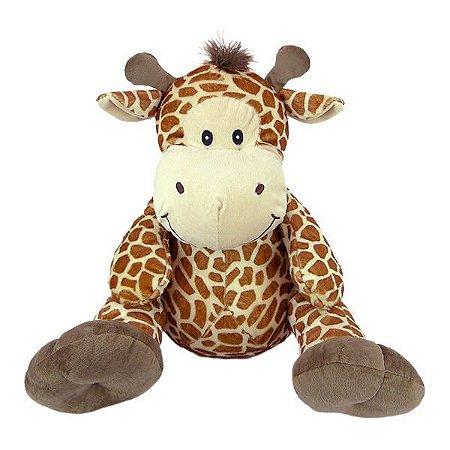 Girafa de Pelúcia 38cm Sentada