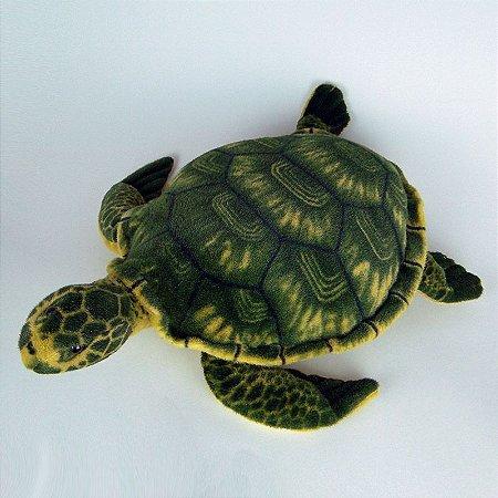Tartaruga de Pelúcia Realística - Verde 78cm