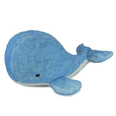Baleia de pelúcia Azul Grande