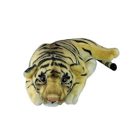 Tigre de Pelúcia Deitado Filhote Pequeno
