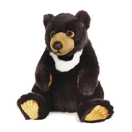 Urso Negro Asiático de Pelúcia Nat Geo