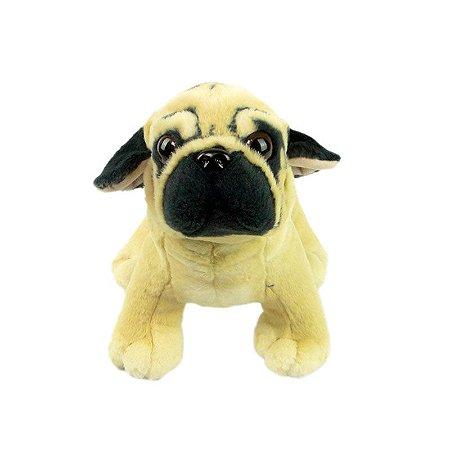 Cachorro de Pelúcia Pug Pequeno