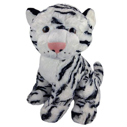 Tigre Branco de Pelúcia Filhote Grande