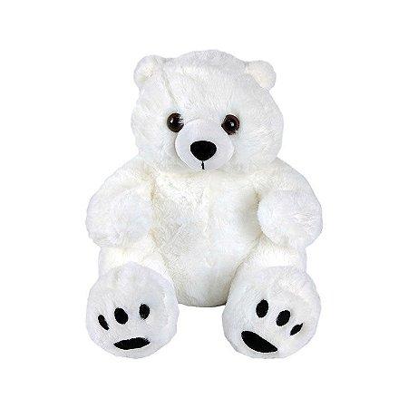 Urso de Pelúcia Polar - Branco