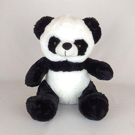 Urso Panda De Pelúcia Sentado