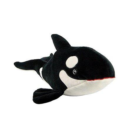 Baleia Orca de Pelúcia