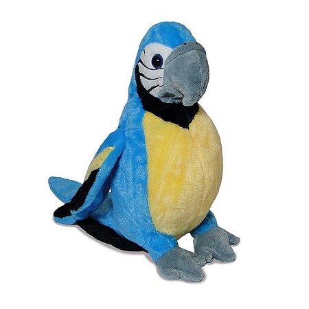 Arara Azul de Pelúcia