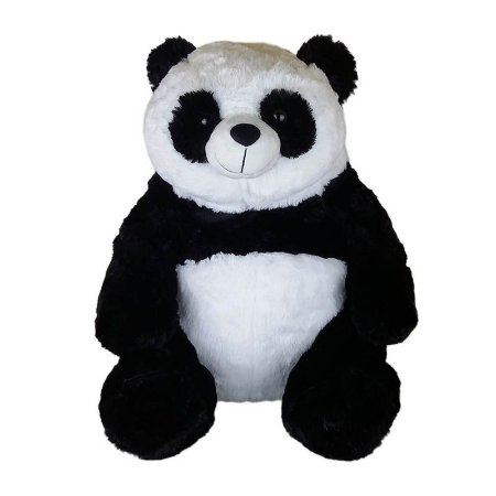 Urso Panda De Pelúcia - 48cm Sentado