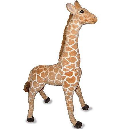 Girafa de Pelúcia - 90cm Em Pé