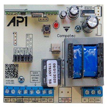 Placa Central de Alarme AP1 Compatec (Somente Placa Eletrônica)