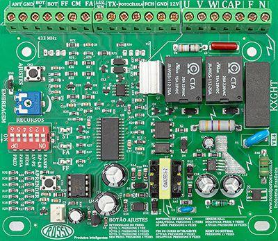 Placa Central Inversora Rossi KXGHT Para 1024 Controles