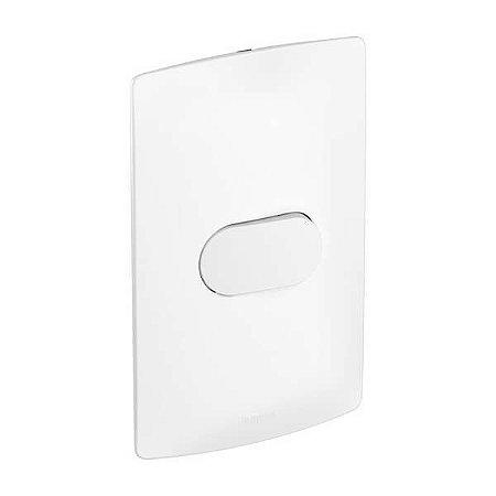 Interruptor Nereya Paralelo Three Way Branco Fosco 4x2 Pial Legrand