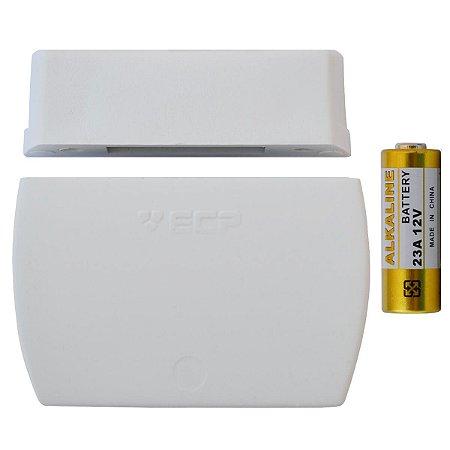 Sensor Magnético Sem Fio Ecp Intruder Para Porta E Janelas