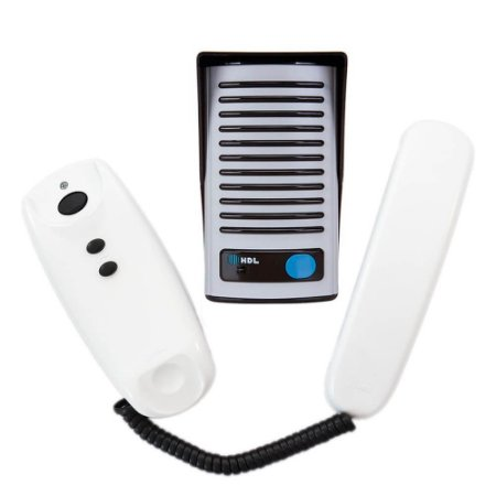 Interfone HDL F8 NTL Porteiro Eletrônico Residencial Com Monofone