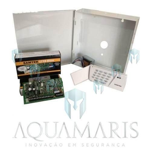 Kit - Placa Stk 748 Ultra + Teclado + Caixa + Trafo Samtek