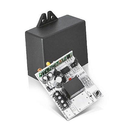 Receptor Para Alarme E Portão 292Mhz Com 1 Canal 12V e 24V