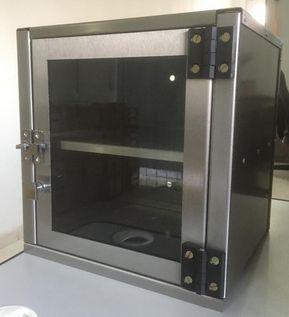 Cabine para elevador Monta Pratos com porta de Vidro